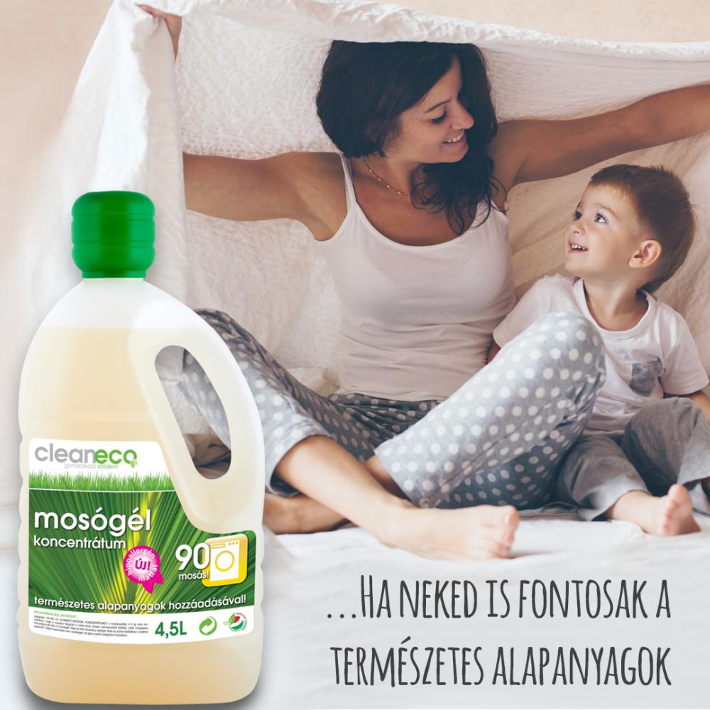 Cukimamik nagy mosógél tesztjében a Cleaneco mosógél és baby öblítő